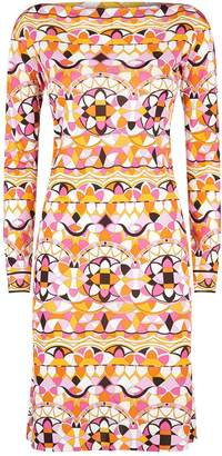 Emilio Pucci Arenal Patterned Jersey Dress