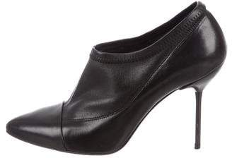 Pedro Garcia Leather Pointed-Toe Booties