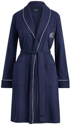 Ralph Lauren Quilted Collar Cotton Robe