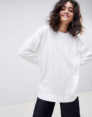 Asos DESIGN oversize sweater in fine knit