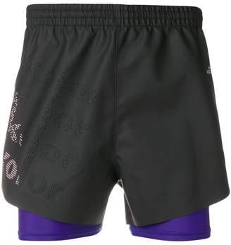 adidas coated shorts