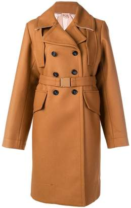 No.21 belted trench coat