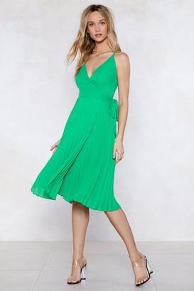 Nasty Gal Gone With the Wind Wrap Dress