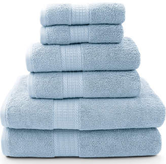 PACIFIC COAST TEXTILES Pacific Coast TextilesTM Luxury Spa 6-pc. Solid Bath Towel Set
