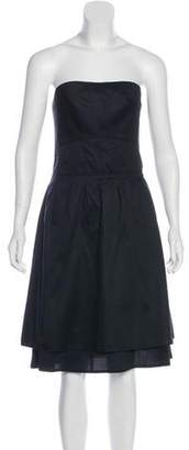 Marc by Marc Jacobs Strapless Knee-Length Dress