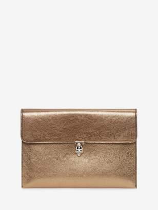 Alexander McQueen Skull Envelope Clutch