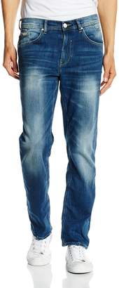Blend of America Men's Casual Regular-Fit Straight-Leg Jeans Pants Low-Waist Denim Jean