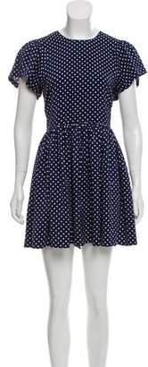 Chloe Sevigny for Opening Ceremony Short Sleeve Mini Dress