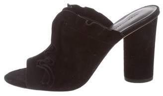 Rebecca Minkoff Suede Slide Sandals