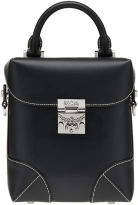 MCM Soft Berlin Crossbody In Vachetta Leather