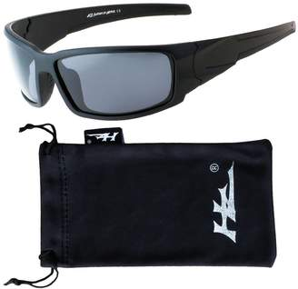 38d484aacf9c HZ Series Hyperbull - Premium Polarized Sunglasses by Hornz – Frame – Dark  Smoke Lens