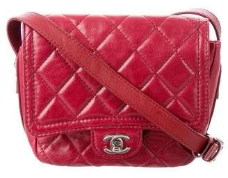 Chanel 2017 Quilted Messenger Bag