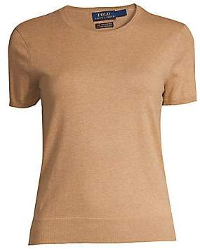 Polo Ralph Lauren Women's Short Sleeve Sweater