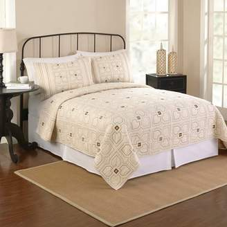 Better Homes & Gardens orion quilt, twin, Off-white