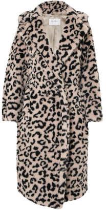 Max Mara Oversized Leopard-print Faux Fur Coat