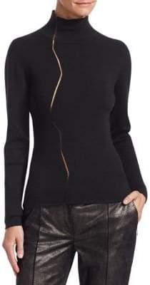 Akris Marble Mockneck Sweater