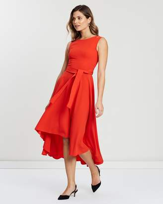 Karen Millen Asymmetric Belted Dress