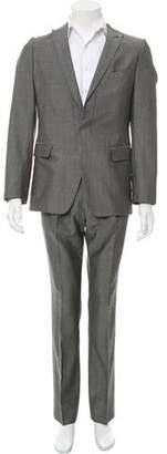 Dries Van Noten Wool One-Button Suit