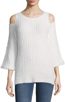 Lucca Couture Women's Bianca Ribbed Sweater
