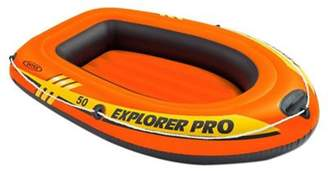 Intex Explorer Pro 50 Kids Swimming Pool Fun Inflatable Safety Ride-On Boat