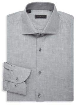 Saks Fifth Avenue COLLECTION Oxford Cotton Dress Shirt