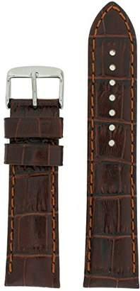 2xist Tech Swiss LEA1850-22 22mm Leather Crocodile Watch Strap