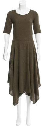 Raquel Allegra Handkerchief Maxi Dress w/ Tags