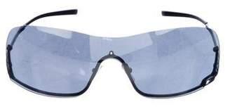 Gucci Rimless Tinted Sunglasses