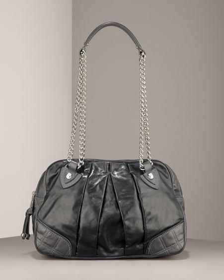 Marc Jacobs Bowler Pleated Shoulder Bag