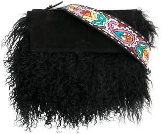 Etro paisley strap shoulder bag
