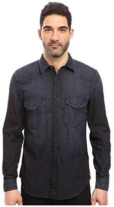 7 For All Mankind Men's Western Button Down Shirt
