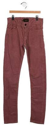 Finger In The Nose Girls' Corduroy Skinny Pants