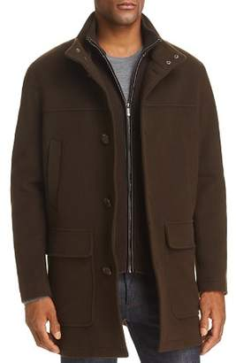 Cole Haan Wool Cashmere Car Coat