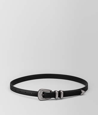 Bottega Veneta NERO CALF BELT