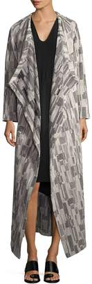 Zero Maria Cornejo Women's Print Blanket Cardigan