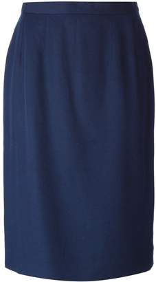 Guy Laroche Pre-Owned high waist pencil skirt