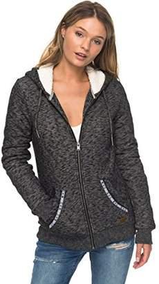 Roxy Women's Trippin Sherpa Zip Up Fleece Sweatshirt
