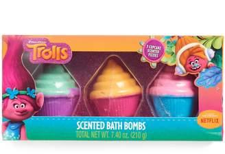 Dreamworks Girls 5-12 DreamWorks Trolls Cupcake Scented Bath Bombs
