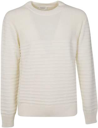 Dondup Striped Ribbed Sweater
