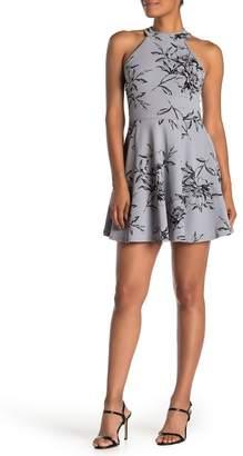 Love, Nickie Lew Floral Skater Dress