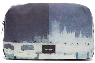 Paul Smith London Print Canvas Wash Bag - Mens - Multi