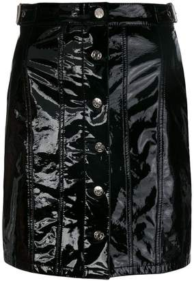 Almaz short buttoned skirt