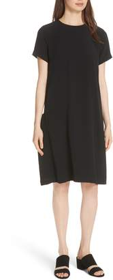Eileen Fisher Side Pocket Shift Dress