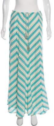 Calypso Crocheted Midi Skirt