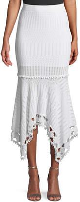 Jonathan Simkhai Lacy Cotton Crochet Midi Skirt
