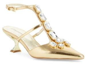 Jeffrey Campbell Strategy-2 Embellished Pump