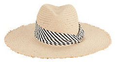 Hat Attack Interchangeable Trims Straw Hat $125 thestylecure.com