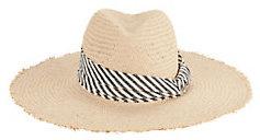 Interchangeable Trims Straw Hat