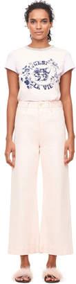 Rebecca Taylor La Vie Garment-DyedWide Leg Jean
