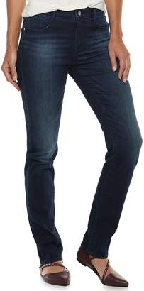 Apt. 9 Women's High Waist Straight-Leg Jeans